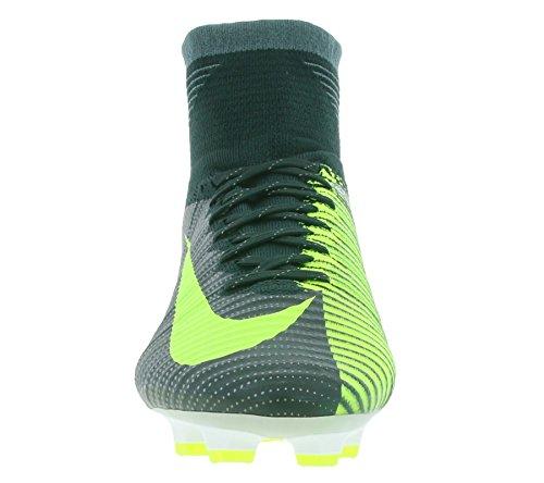 Nike 852511-376, Botas de Fútbol para Hombre Verde (Seaweed / Volt-Hasta-White)