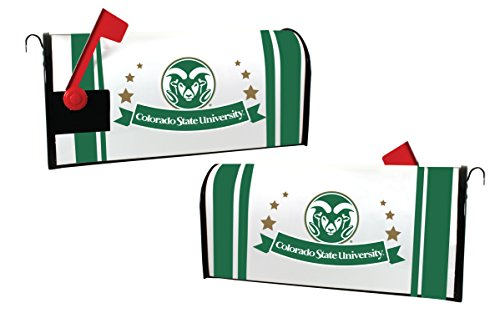 Colorado State Rams Magnetic Mailbox Cover by R and R Imports