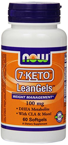 Now Foods 7-keto 100mg Leangels, 60-softgels