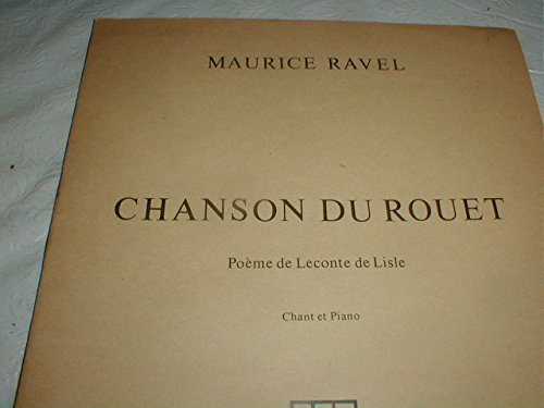 Chanson du Rouet for Voice and Piano