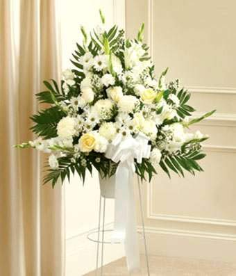 Monument of Grief - Same Day Funeral Flower Arrangements - Buy Flowers for Funeral - Send Funeral Flowers Delivery & Condolence Flowers Today