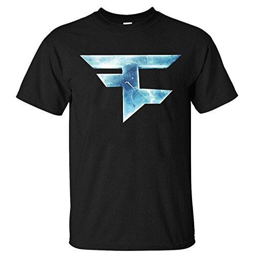 HKGO MLG Call of Duty Team Faze Clan Cool Logo Men's T Shirt Short Sleeves Cotton