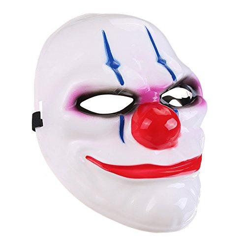 Jojoshine Halloween mask Payday 2 Mask flag funny (Custom Face Masks For Halloween)