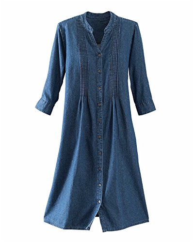 Sleeve Pintuck Dress - 7