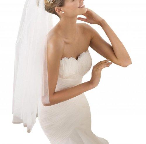 luxus GEOGE Herz Meerjungfrau Elfenbein Brautkleid Ausschnitt BRIDE Organza HgAaxnwTq