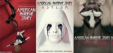 American Horror Story: Seasons 1 - 3 Complete Collection (12-Disc, 2014) (American Horror Story Box Set)