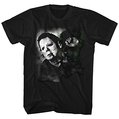 Halloween - Mens Needle Cracked T-Shirt, Size: XX-Large, Color: Black