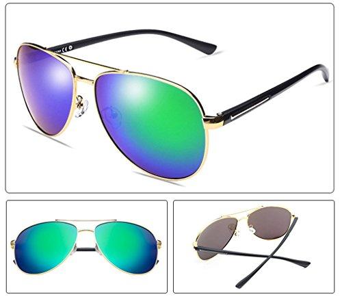 couleur Glasses1 A Protection Conduite Lym Lunettes Pilote Polarized Mirror D De amp; Soleil amp;lunettes Personal wTx6WZ1q7