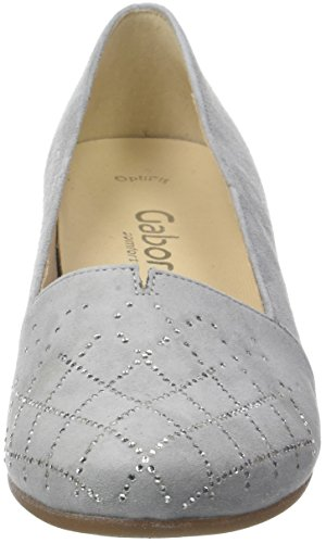 Gabor Motiv Light Shoes Gris Grey Basic Comfort Escarpins Femme rrqzAHw