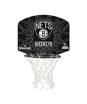 Spalding Mini canasta de baloncesto Nba Brooklyn Nets: Amazon.es ...