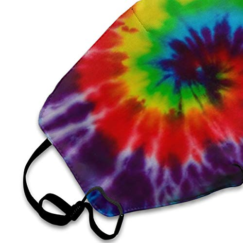 SGHGSAxbh Tie Dye Face Mask Dust Mask Anti Pollution Face Mask Washable Cotton Mouth Mask Men and Women for All Ages