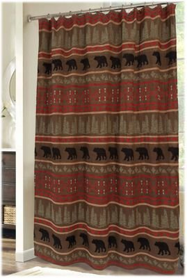 Bear Country Shower Curtains