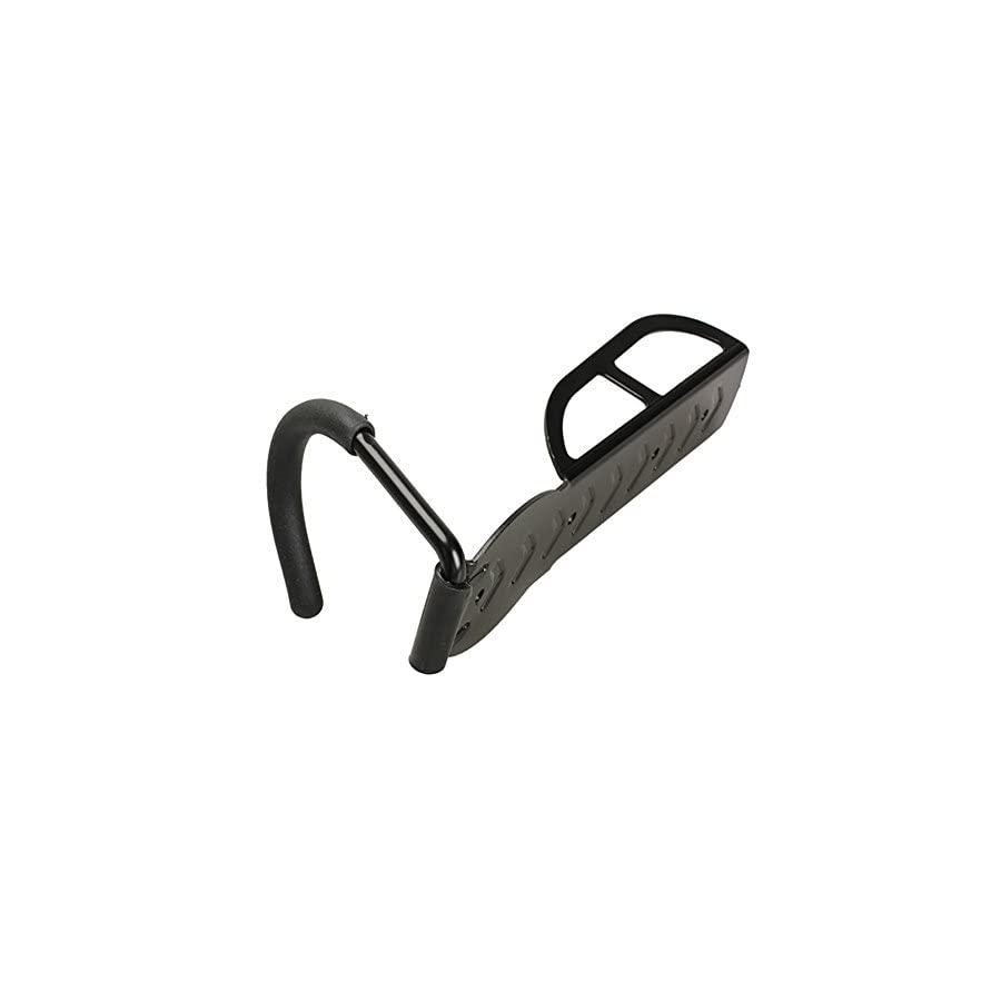 Altruism Bike Wall Rack Black Hanger With Locking Hook Works Tight and Firm As Vertical Wall Mounted Holder/Stand