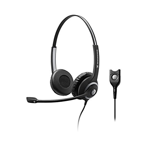 Sennheiser DeskMate SC 260 Binaural Corded Telephone Headset (Certified Refurbished)