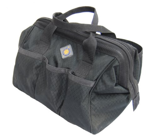 Northstar Tactical Gator Top Pistol Gun Range Bag 12 X 9 inch (Black)