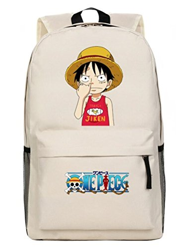 Yoyoshome Anime One Piece Cosplay Book Bag Rucksack Backpack School Bag