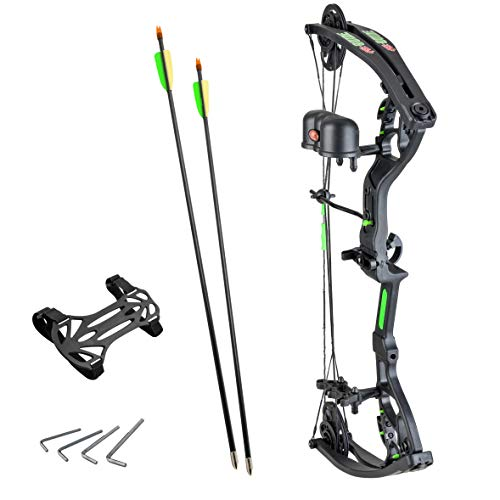 PSE Guide Junior Archery Youth 29 Pound Right Hand Compound Bow Package ()