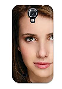 Premium Protection Emma Roberts?wallpaper Case Cover For Galaxy S4- Retail Packaging
