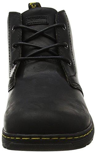 Dr. Martens Herren Emil Black Republic Chukka Boots Schwarz (Black)