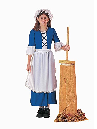 Forum Novelties Colonial Girl Costume, Child's Medium