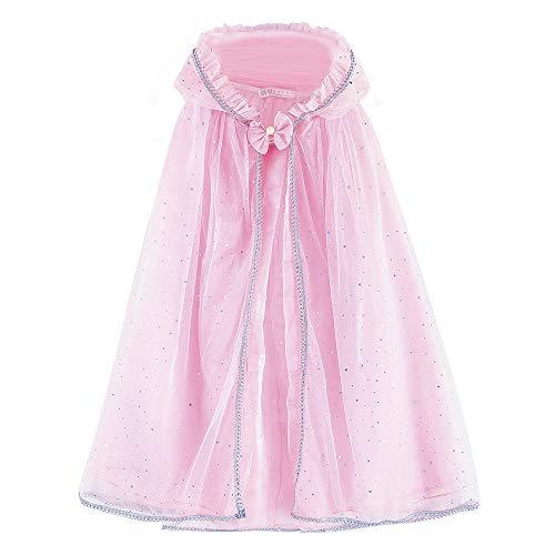 Zerayo Girls Hooded Cloak Princess Unicorn Costume