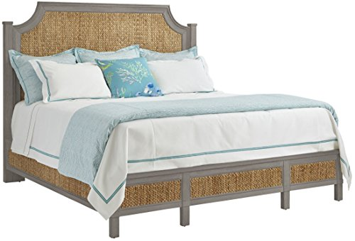 UPC 702405512682, Stanley 062-C3-41 Coastal Living Resort Water Meadow Woven Bed, Queen, Morning Fog Finish