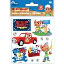 Sticko Disney Metallic Stickers-handy Manny 3 Pack