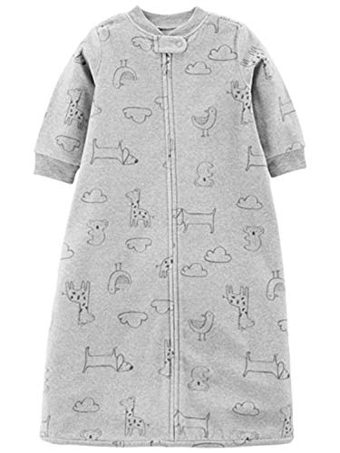 Carters Infant Boys Gray Giraffe Dog Sleep Sack Baby Bunting Sleepbag S(9-12lb) ()