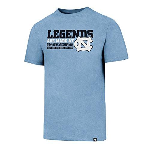 National Champions Tee (NCAA North Carolina Tar Heels Men's 2017 National Champions Club Tee, Medium, Teal)