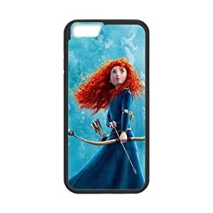 (FVMA) Disneys Brave iPhone 6 Plus 5.5 Inch Cell Phone Case Black