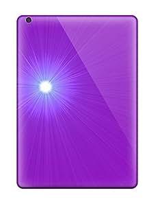 For Ipad Air Tpu Phone Case Cover(purple Glare)