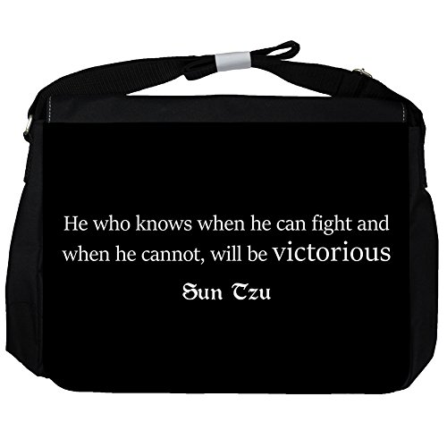 He who knows - Sun Tzu Unisex Umhängetasche