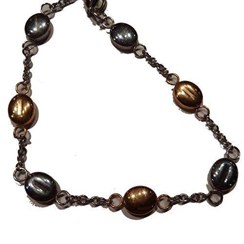 Links Alternating Oval (gold silver alternating oval links bracelet)