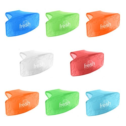 Fresh Products Toilet Bowl Eco Bowl Clip 2.0 Air Freshener - Sample Pack (8 Scents)