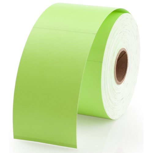 """Dymo 30374G Compatible Green Appointment Cards 2"""" x 3-1/2"""" - 300 Cards Per Roll"""