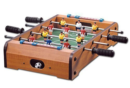 Homeware Wooden Classic Mini Table Top Foosball (Soccer) Game Set - 20""