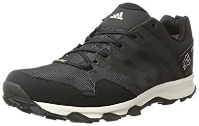 adidas Kanadia 7 Trail GTX , Zapatillas Hombre, Gris / Negro / Blanco, 38 2/3