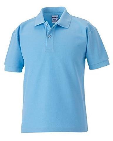 Jerzees Schoolgear Children's Classic Polycotton Polo Kid's School Polo Shirt 539B