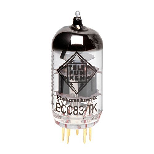 TELEFUNKEN Elektroakustik ECC Series ECC83-TK Pre Amp Vacuum Tubes
