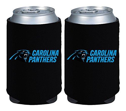 NFL Carolina Panthers Magnetic Kolder Kaddy, 2-Pack, Black