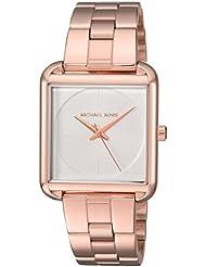 Michael Kors Womens Lake Rose Gold-Tone Watch MK3645