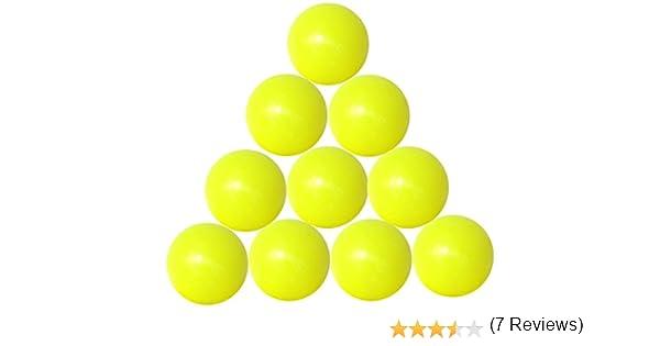 FAS 10 Bolas futbolín Amarillas gal19gis con Bolsa de plástico ...