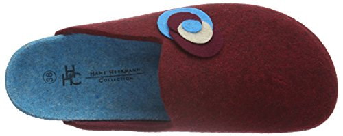 wollfilz Hhc Chaussons Herrmann Rouge Hans Femme Bordeaux Rot Collection Epw0wOxq