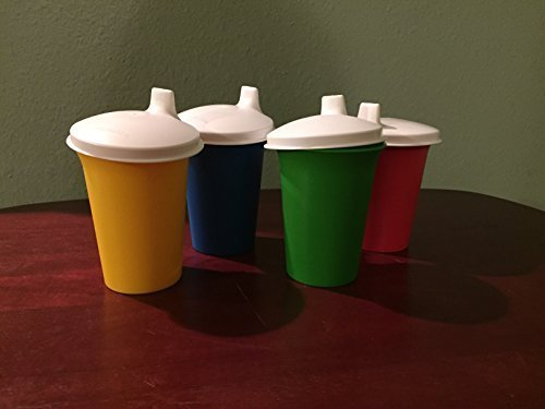 tupperware-bell-tumblers-with-domed-sipper-seals-in-green-red-blue-and-yellow