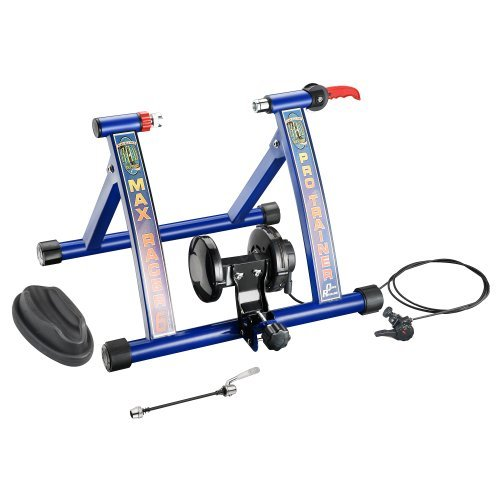 RAD Cycle Products MAX Racer Pro Bicycle Trainer Work Out with 7 Levels of ResistancePro Blue [並行輸入品]   B078HYCLKZ