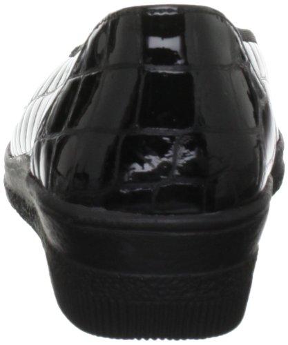 Ballerine Donna Gabor black Patent Piquet Nero qTg1E