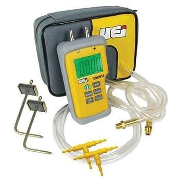 Amazon.com: Kit de prueba de presión estática, Digital, 9 V ...
