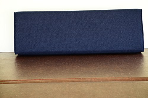 Wedge Bolster Cover (Navy Blue)