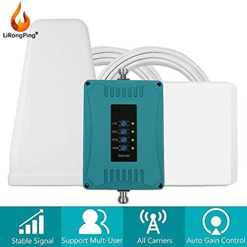 4G LTEデータ&VoiceCallホームアンテナアンプT-Mobileの4G LTE AT&TVerizon 850分の700/1700 / 1900MHzの携帯電話の信号ブースター