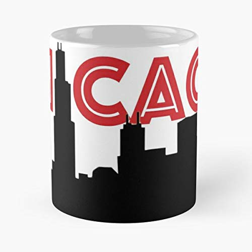 (Windy City Chitown Chi Town Chicago Cubs - Handmade Funny 11oz Mug Best Birthday Gifts For Men Women Friends Work Great Holidays Day)